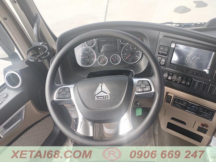 Hệ thống lái cho xe ben 4 chân howo tx400 howo man 2021