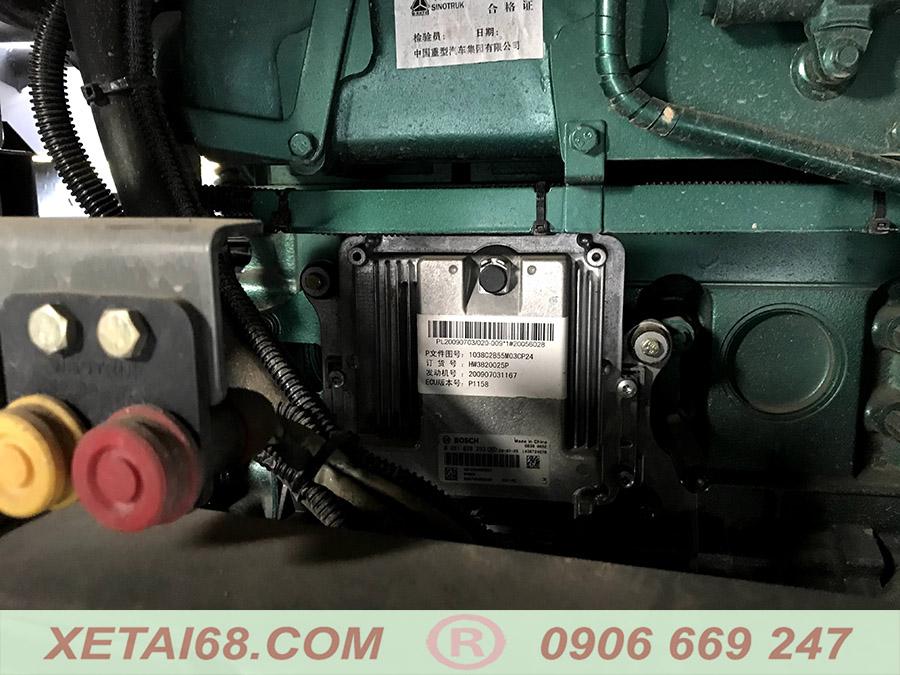 Động cơ xe ben howo dạt tiêu chuẩn euro 5