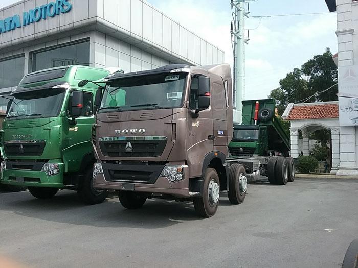 xe tải hổ vồ 4 chân