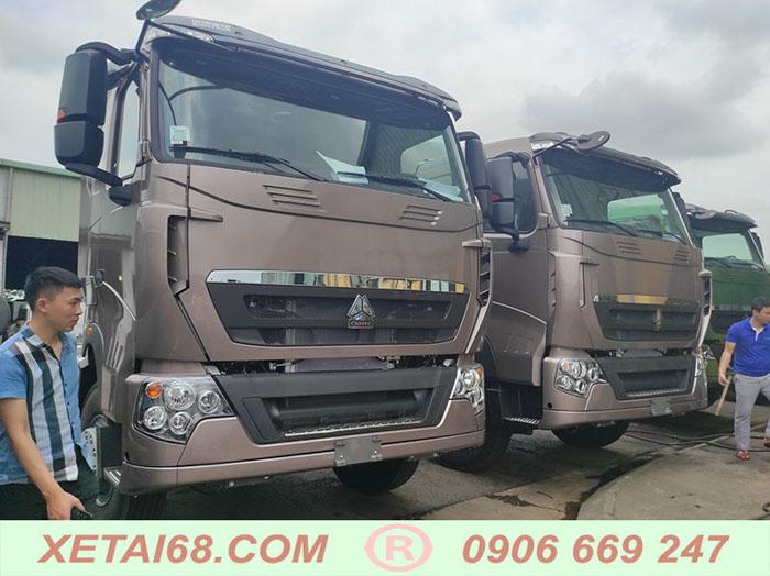 xe tải howo 2021 4 chân tải trọng cao